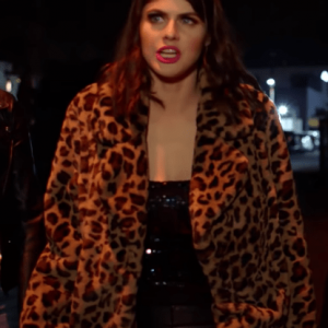 1 Night In San Diego Alexandra Daddario Coat