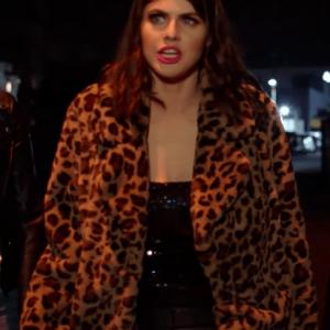 1 Night In San Diego Alexandra Daddario Coat