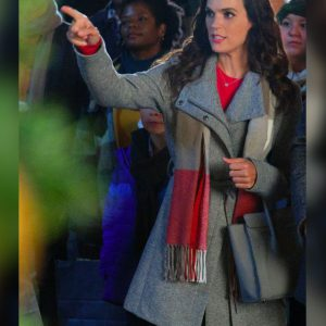 A Timeless Christmas Erin Cahill Grey Coat
