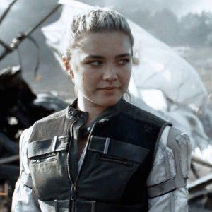 Black Widow 2021 Yelena Belova Vest - Film Leather Jacket