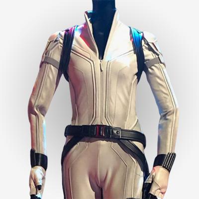 Black Widow Scarlett Johansson White Jacket