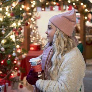 A Nashville Christmas Carol Jessy Schram Sherpa Jacket