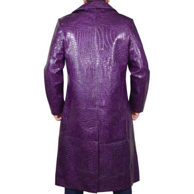 Suicide Squad Joker Crocodile Jared Leto Coat