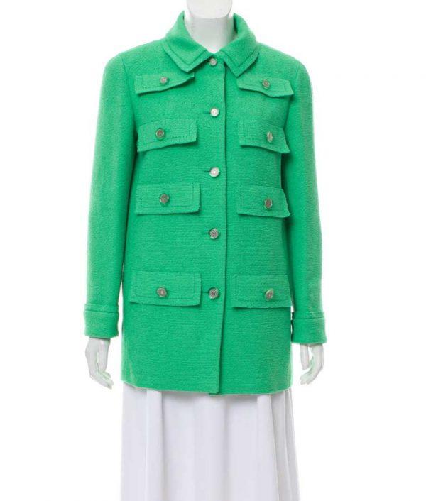 Emily In Paris Green Coat