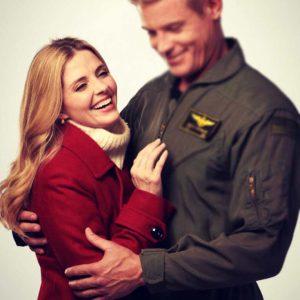 Maddie Contino USS Christmas Coat