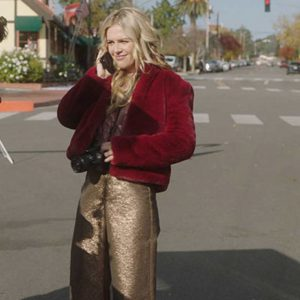 A Very Charming Christmas Town Natalie Hall Jacket