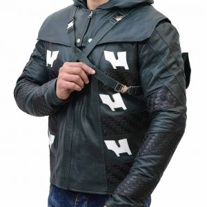 Arrow Season 5 Prometheus Leather Jacket