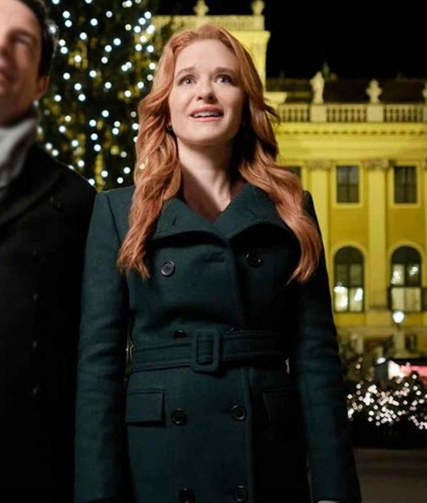 Christmas in Vienna Sarah Drew Green Coat