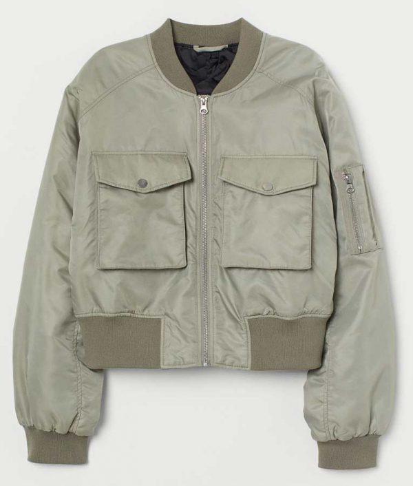 Side Hustle Presley Bomber Jacket