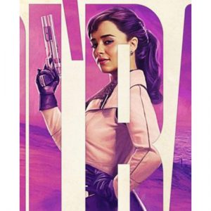 A Star Wars Story Qi'ra Leather Jacket