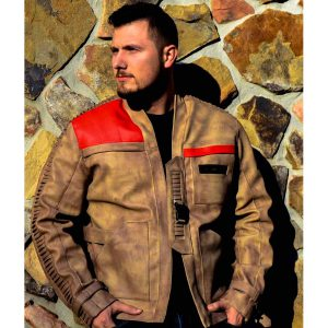 The Force Awakens Poe Dameron Finn Jacket