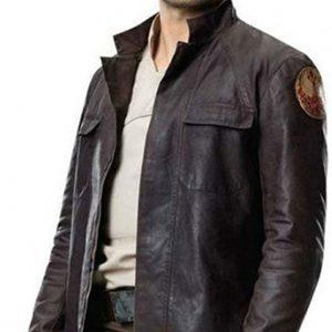 Star Wars The Last Jedi Poe Leather Jacket