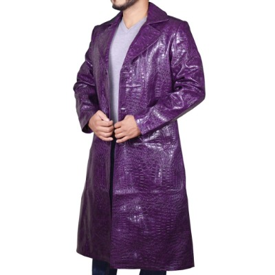 Suicide Squad Joker Crocodile Jared Leto Coat