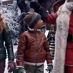 The Christmas Chronicles 2 Jack Leather Jacket