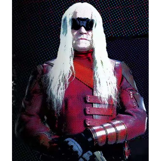 The Suicide Squad 2021 Savant Leather Jacket