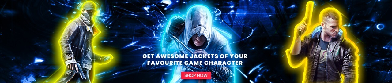 Video Game Leather Jackets Collection for Men and Women